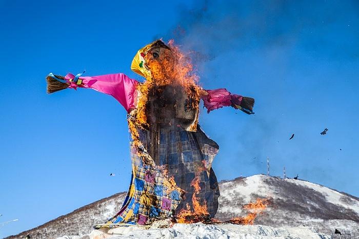 February 18th, Maslenitsa was celebrated