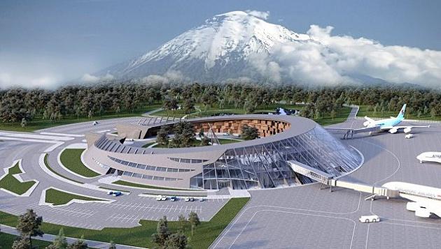 Kamchatka's main airport