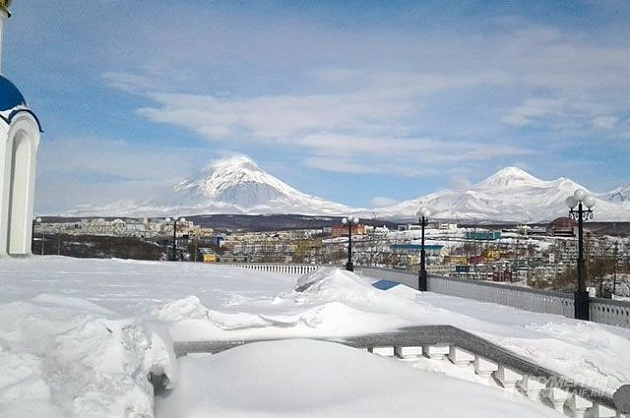 "Kamchatka is a country of volcanoes. What do travelers look for on the ""edge of geography""?"