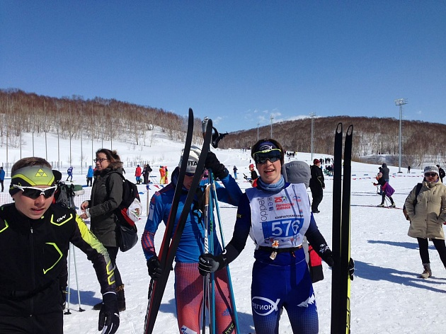 "In the 25th time, the international ski ""Avachinsky Marathon"" took place in Kamchatka"