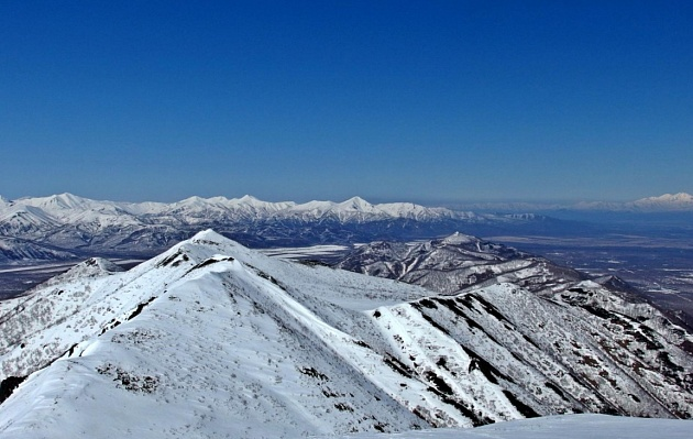 Topolovy ridge of Kamchatka can become a place for the adventure industry
