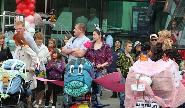 A parade of prams will take place in Petropavlovsk-Kamchatsky