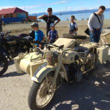 In Petropavlovsk-Kamchatsky there was an exhibition of retro cars