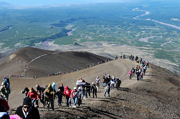 Holiday events on the Kozelskiy volcano are postponed to August 25-26 due to weather. Avachinsky - no change