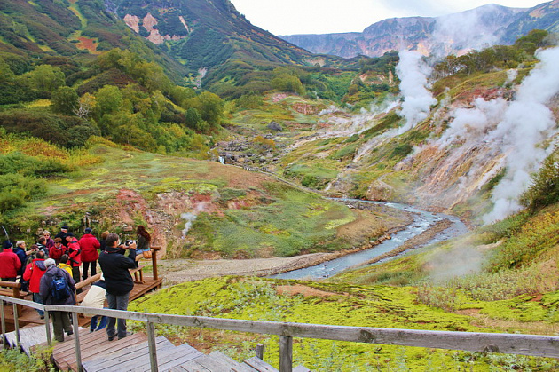 Kamchatka was in the first place among the regions of Russia that travelers would like to visit