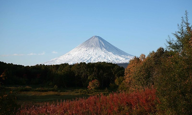 The Kamchatka eruption ended in Kamchatka